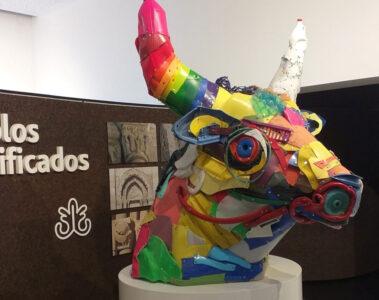 Escultura de Bordalo II