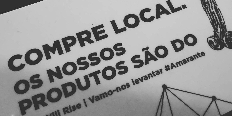 cartão we will rise Amarante